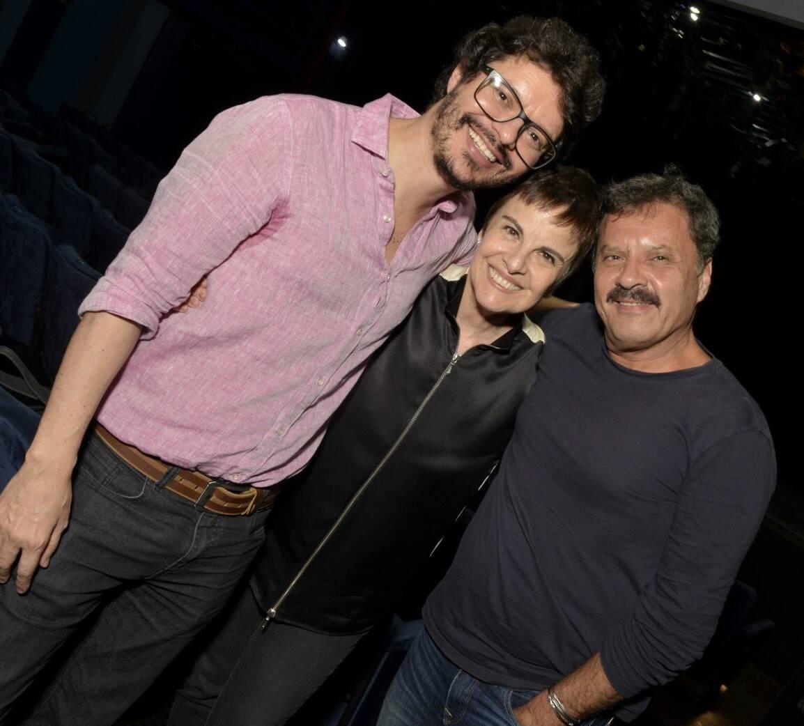 André junqueira, Leila Pinheiro e Victor Garcia Peralta /Foto: Cristina Granato