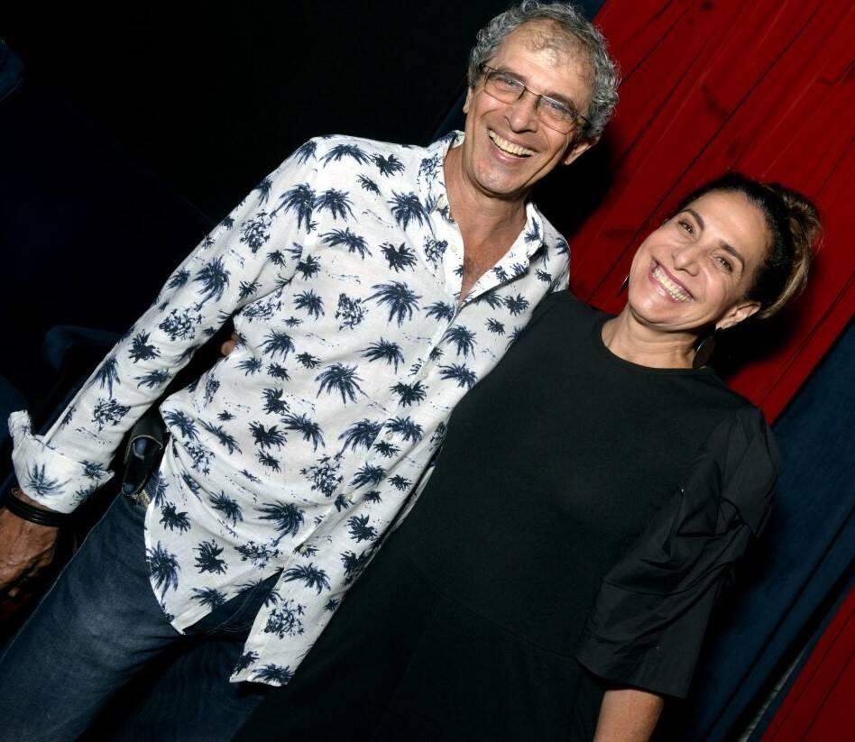 Jayme Rabacov e Totia Meireles /Foto: Cristina Granato