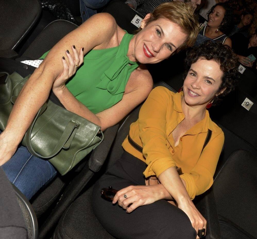 Andreia Veiga e Luciana Braga  /Foto: Cristina Granato