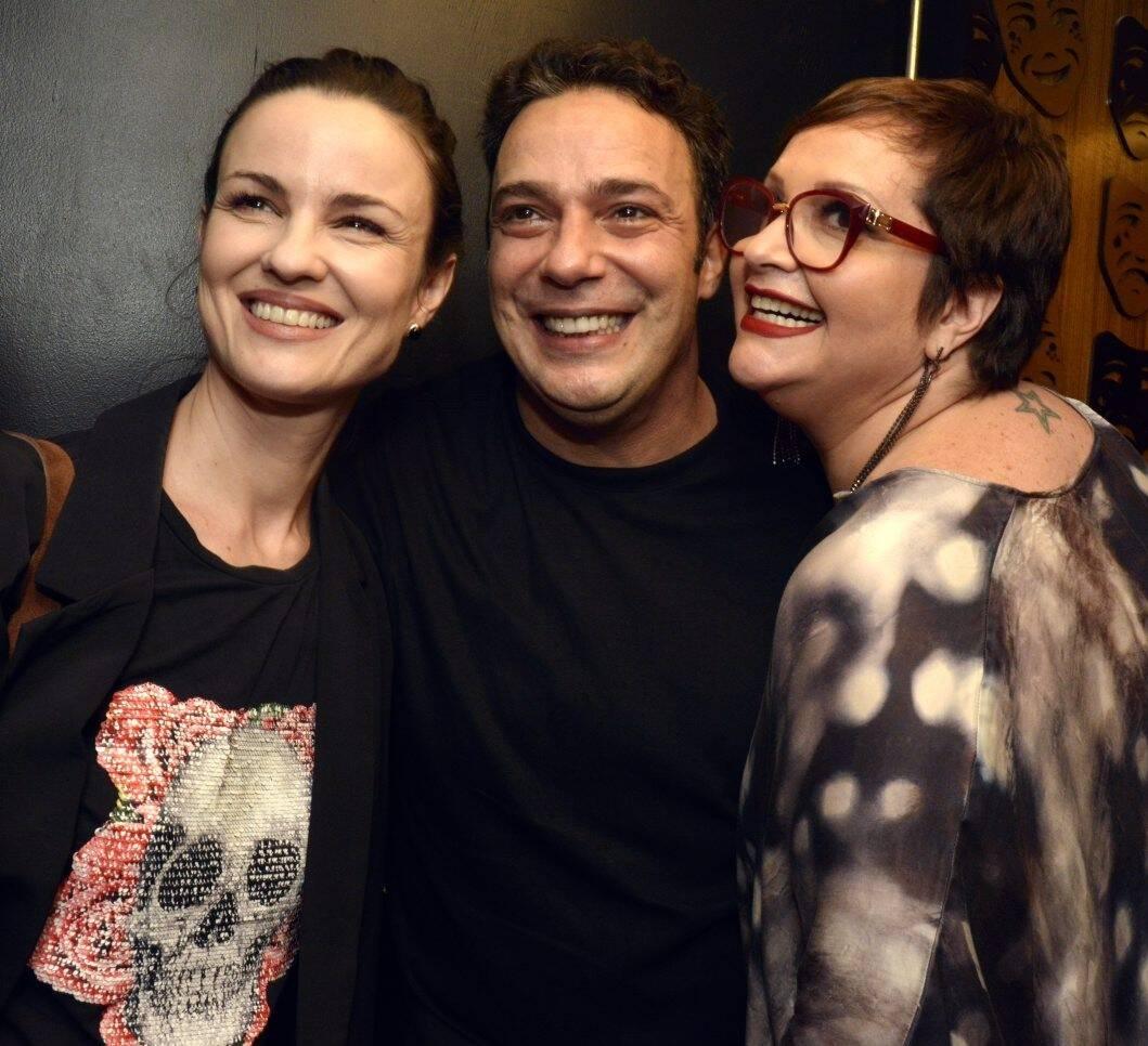 Carolina Kasting, Marcelo Médici  e  Gottsha /Foto: Cristina Granato