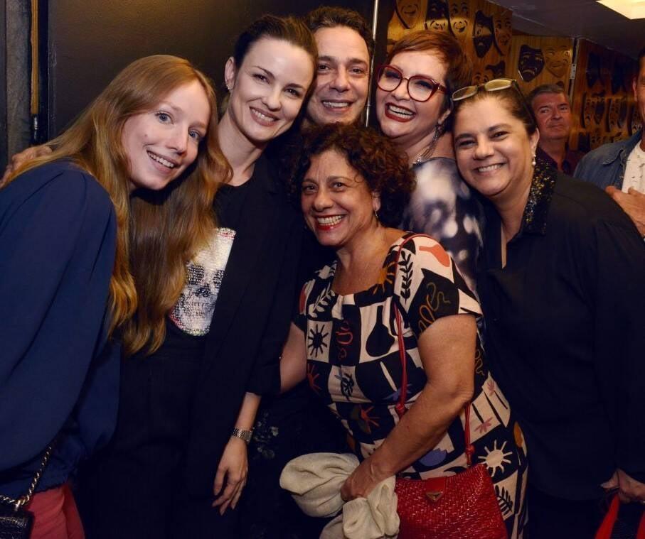 Malu Rodrigue, Carolina Kasting, Marcelo Médici, Gottsha, Bianca De  Felippes e Catarina Abdala /Foto: Cristina Granato