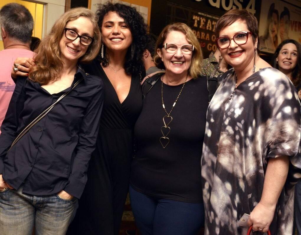 Betty Gofman, Dadá Coelho, Rosane Gofman e Gottsha  /Foto: Cristina Granato