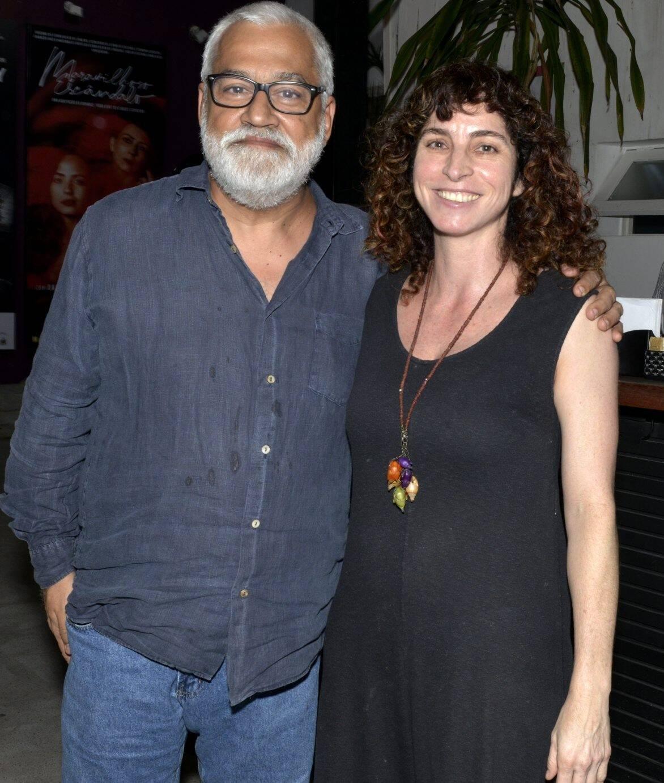 Paulo Halm e Rosane Svartman /Foto: Cristina Granato