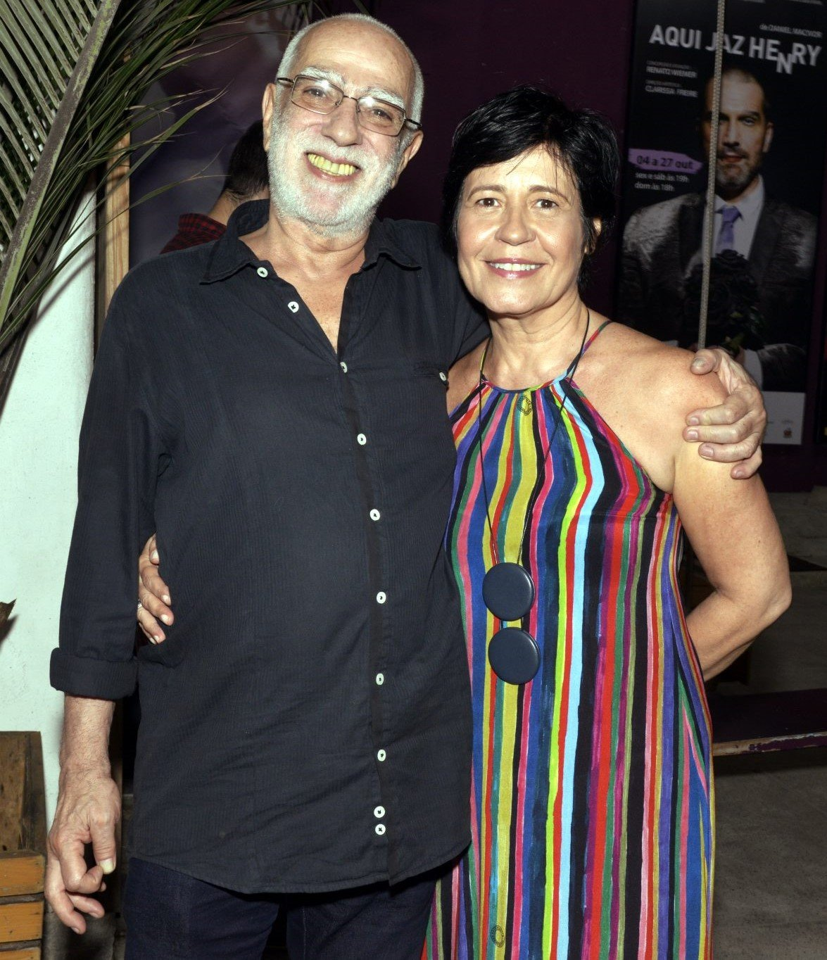 Roberto Lage  e Thelma Guedes /Foto: Cristina Granato