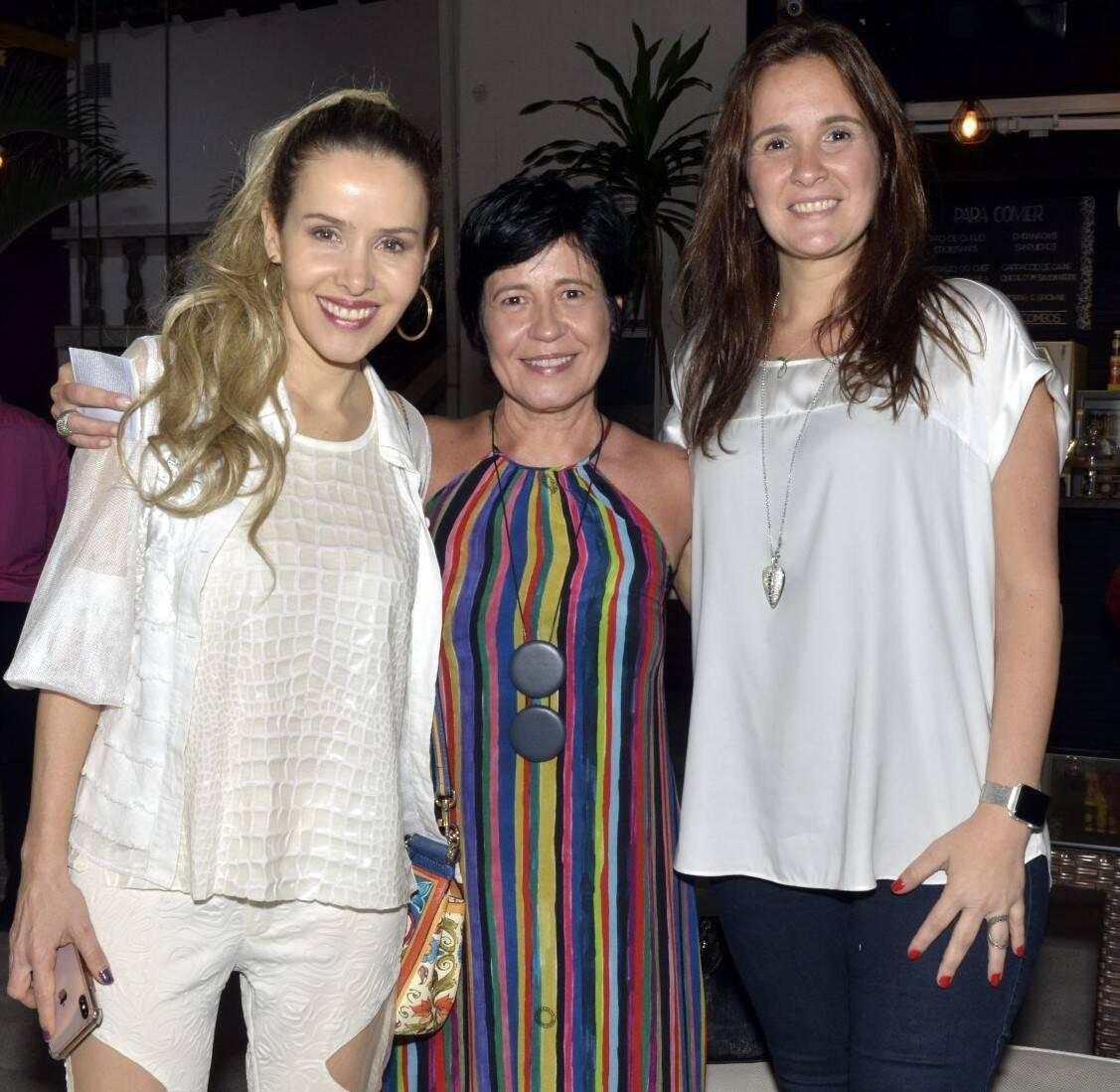 Leona Cavalli, Thelma Guedes e Patricia Lins e Silva  /Foto: Cristina Granato