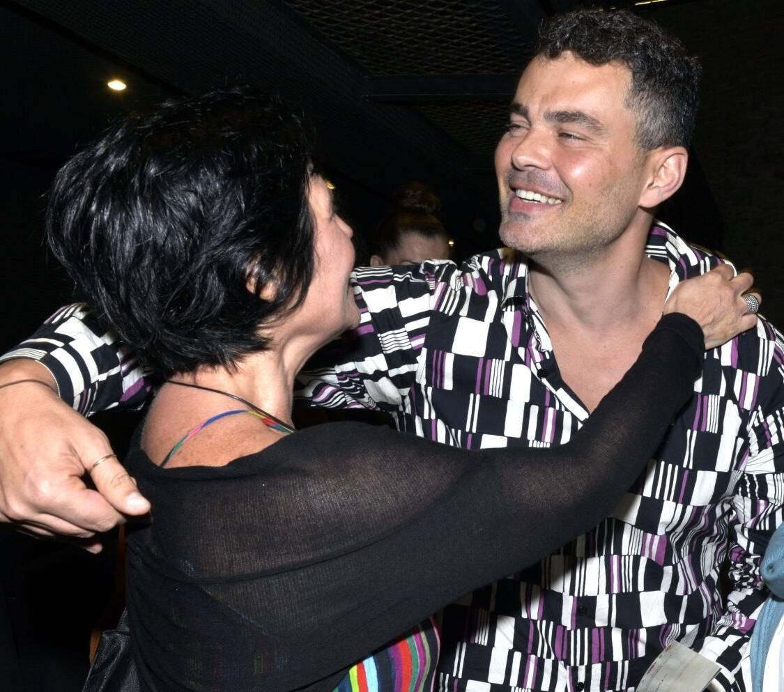 Thelma Guedes e  Carmo Dalla Vecchia /Foto: Cristina Granato