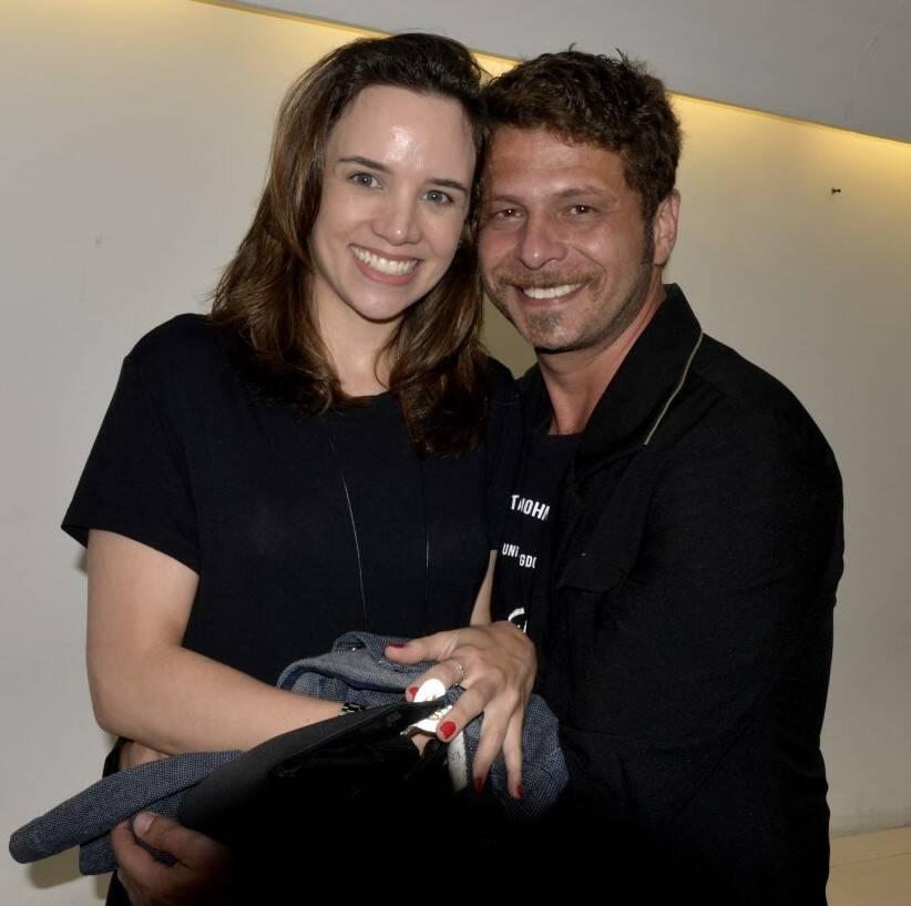 O casal Carol Cashie e Augusto Zacchi  /Foto: Cristina Granato