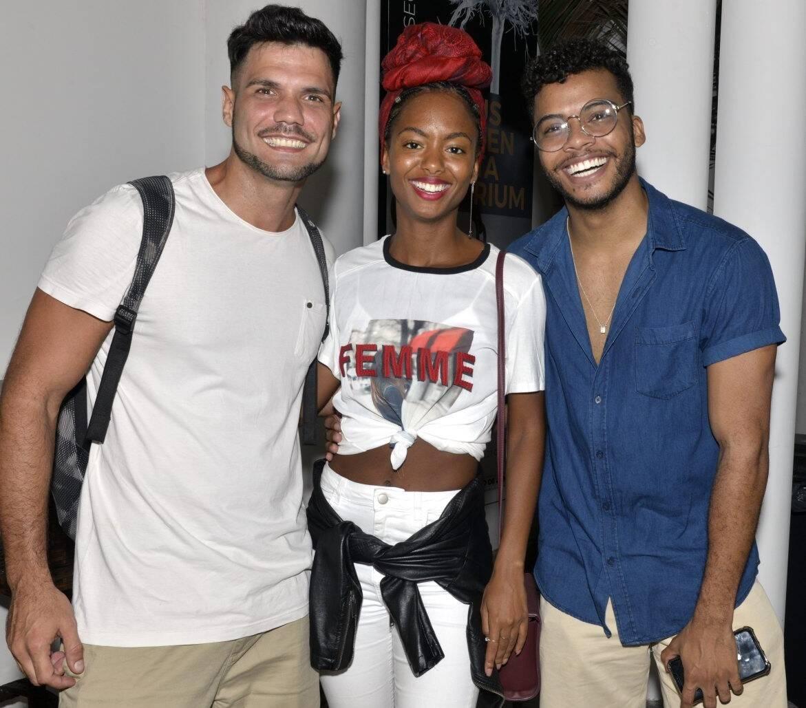 Betto Marqu , Eli Ferreira e Felipe Silcler  /Foto: Cristina Granato