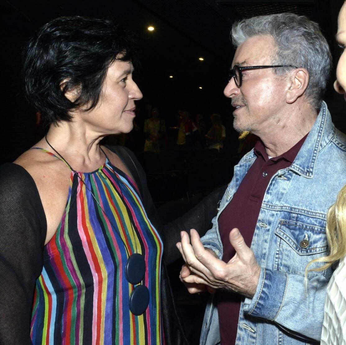 Thelma Guedes e  Ediney Silvestre  /Foto: Cristina Granato