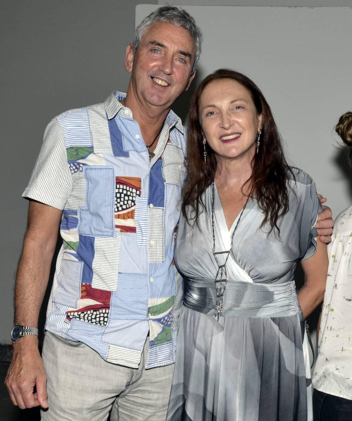 Ruud Dankers e Débora Olivieri /Foto: Cristina Granato