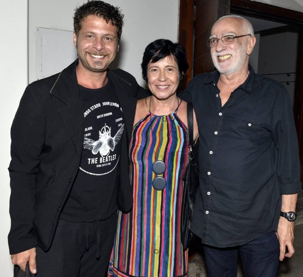 Augusto Zacchi, Thelma Guedes e Roberto Lage  /Foto: Cristina Granato
