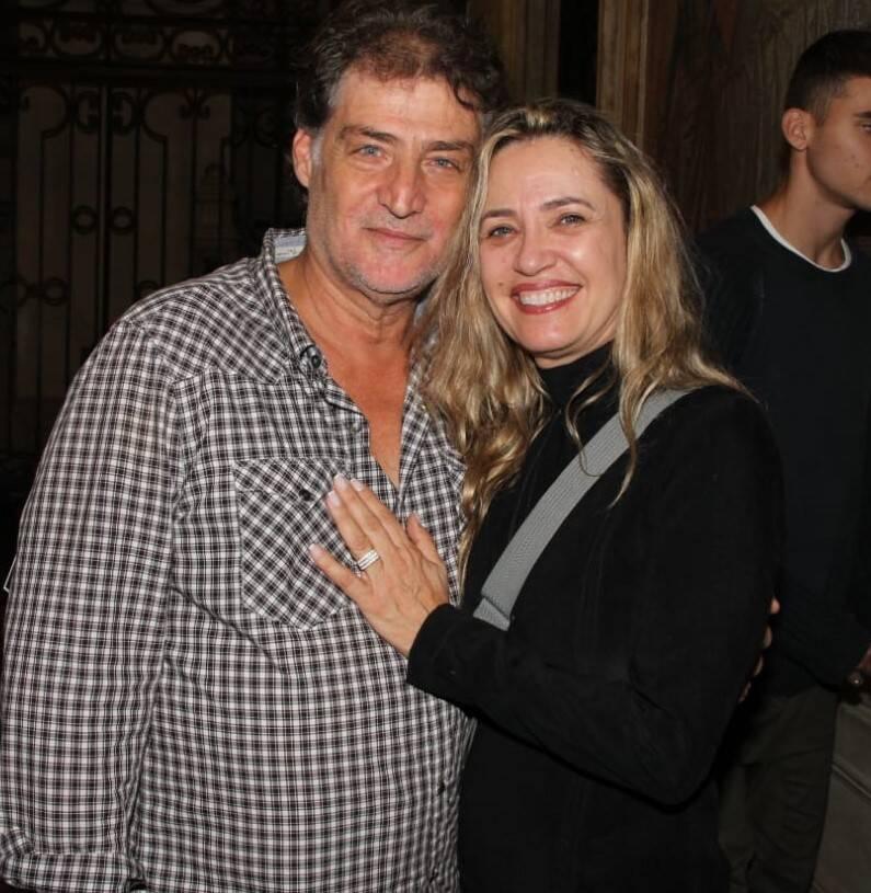 Giuseppe Oristanio e Silvana Campos /Foto: Leandro Menezes