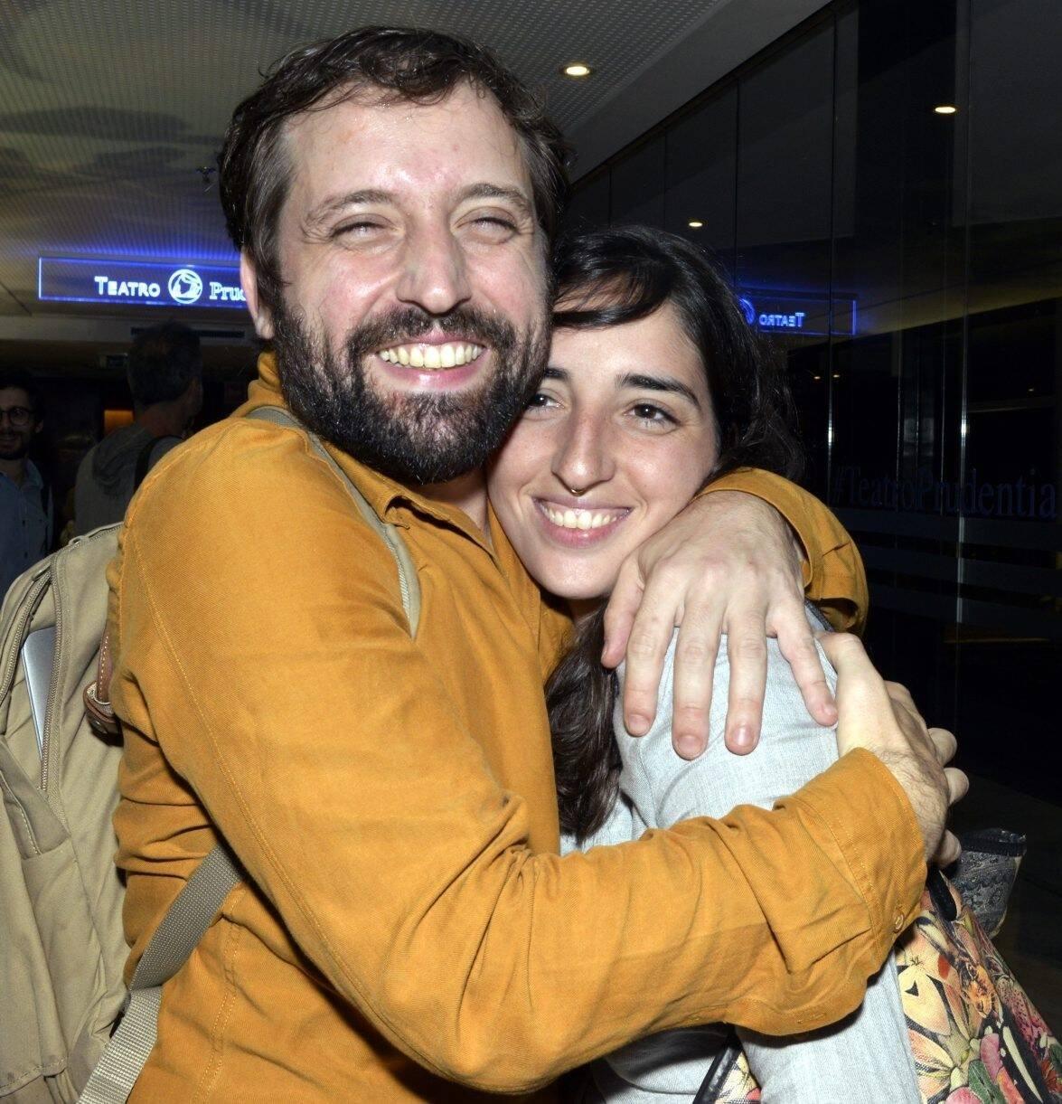 Os irmãos Gregório e Theodora Duvivier /Foto: Cristina Granato