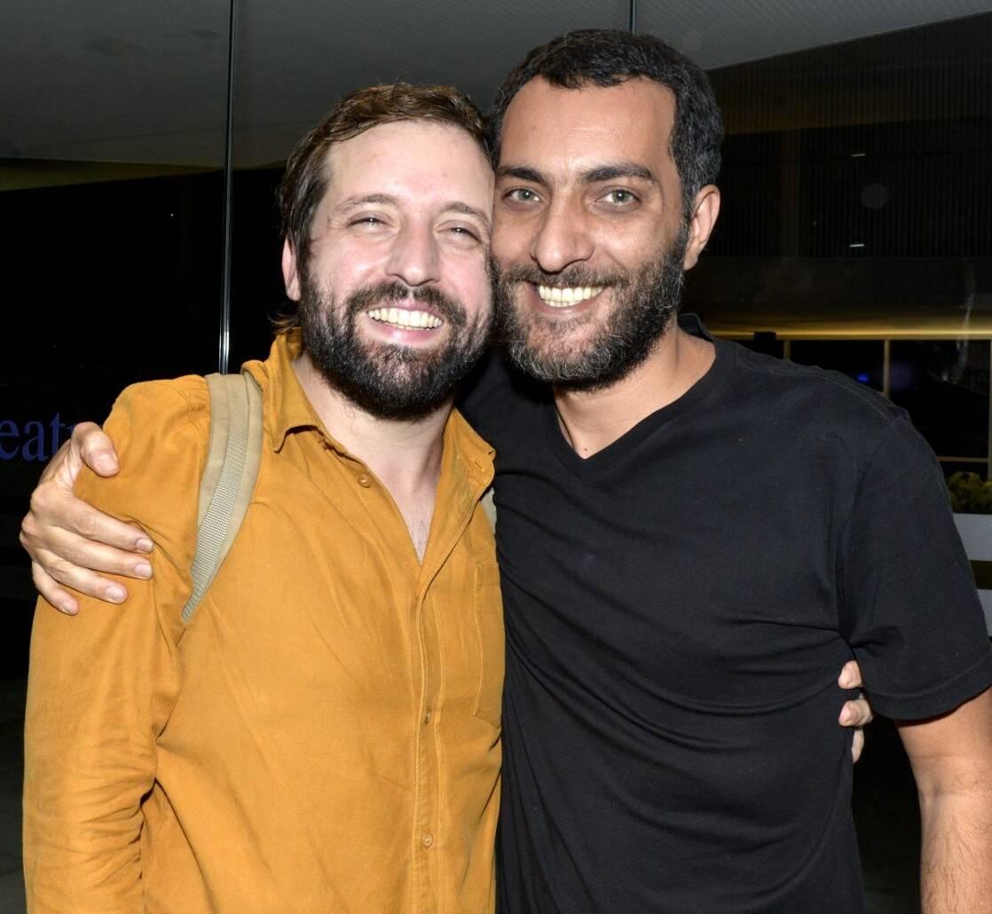 Gregório Duvivier  e Candé Salles /Foto: Cristina Granato