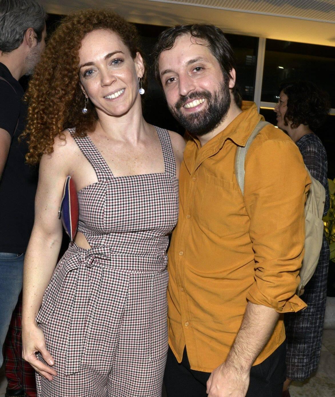 Laila Garin  e Gregório Duvivier /Foto: Cristina Granato