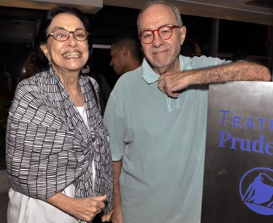 O casal Maria Lucia Rangel e Sergio Augusto /Foto: Cristina Granato