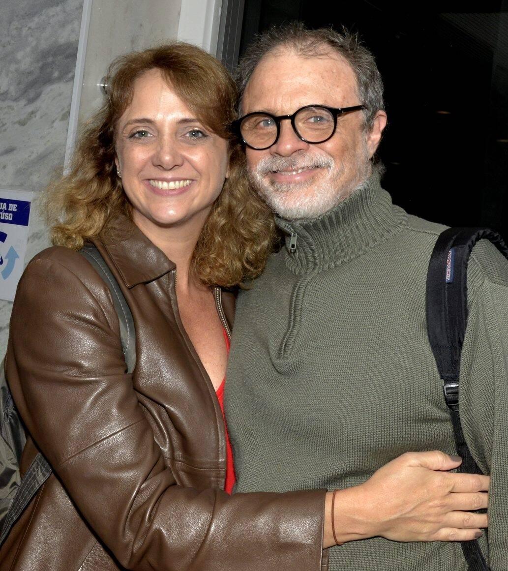 O casal Letícia Isnard e Isaac Bernat /Foto: Cristina Granato