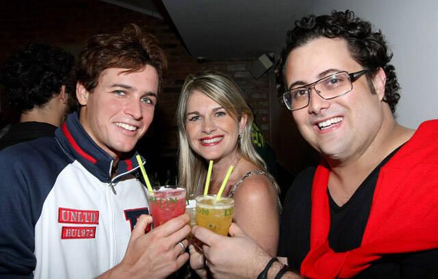 Felipe Dilon, Eliana Martins e Beto Bardawil