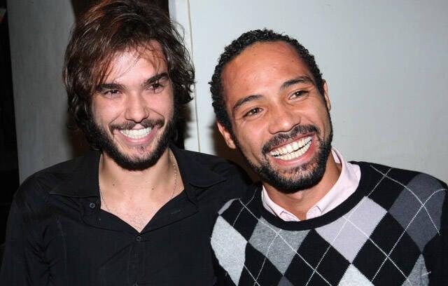 Os diretores da peça Fernando Dolabella e Silvio Guindane