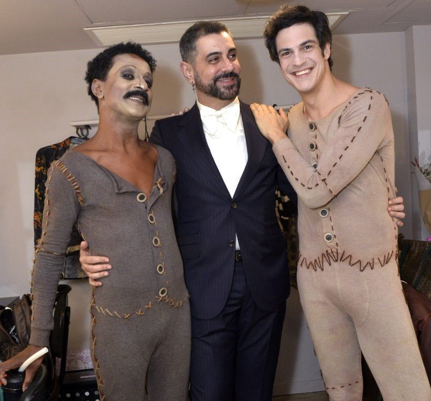 Luis Miranda, Jorge Farjalla e Mateus Solano /Foto: Cristina Granato