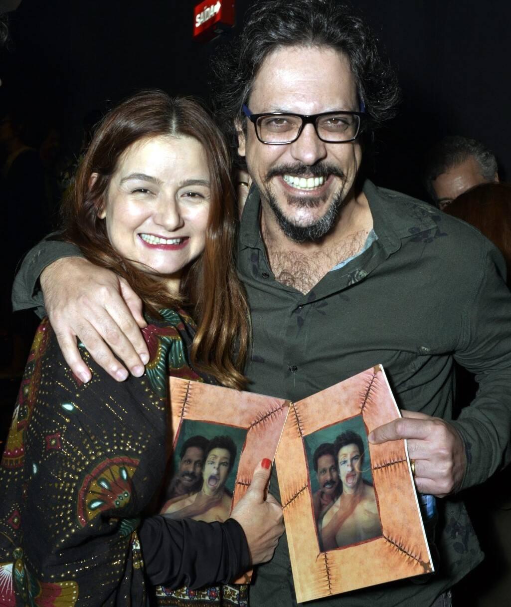 Cintia Oliveira e Lucio Mauro Filho /Foto: Cristina Granato