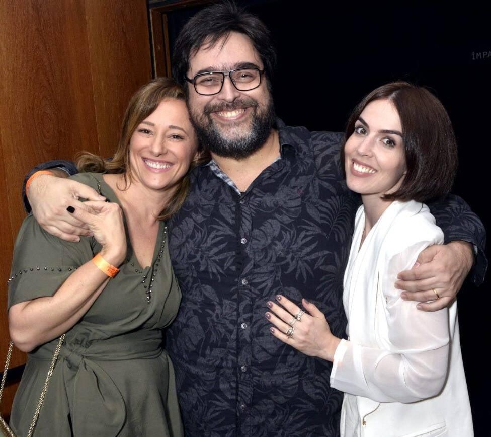 Paula Braun, Eduardo Barata e Karen Brusttolin /Foto: Cristina Granato