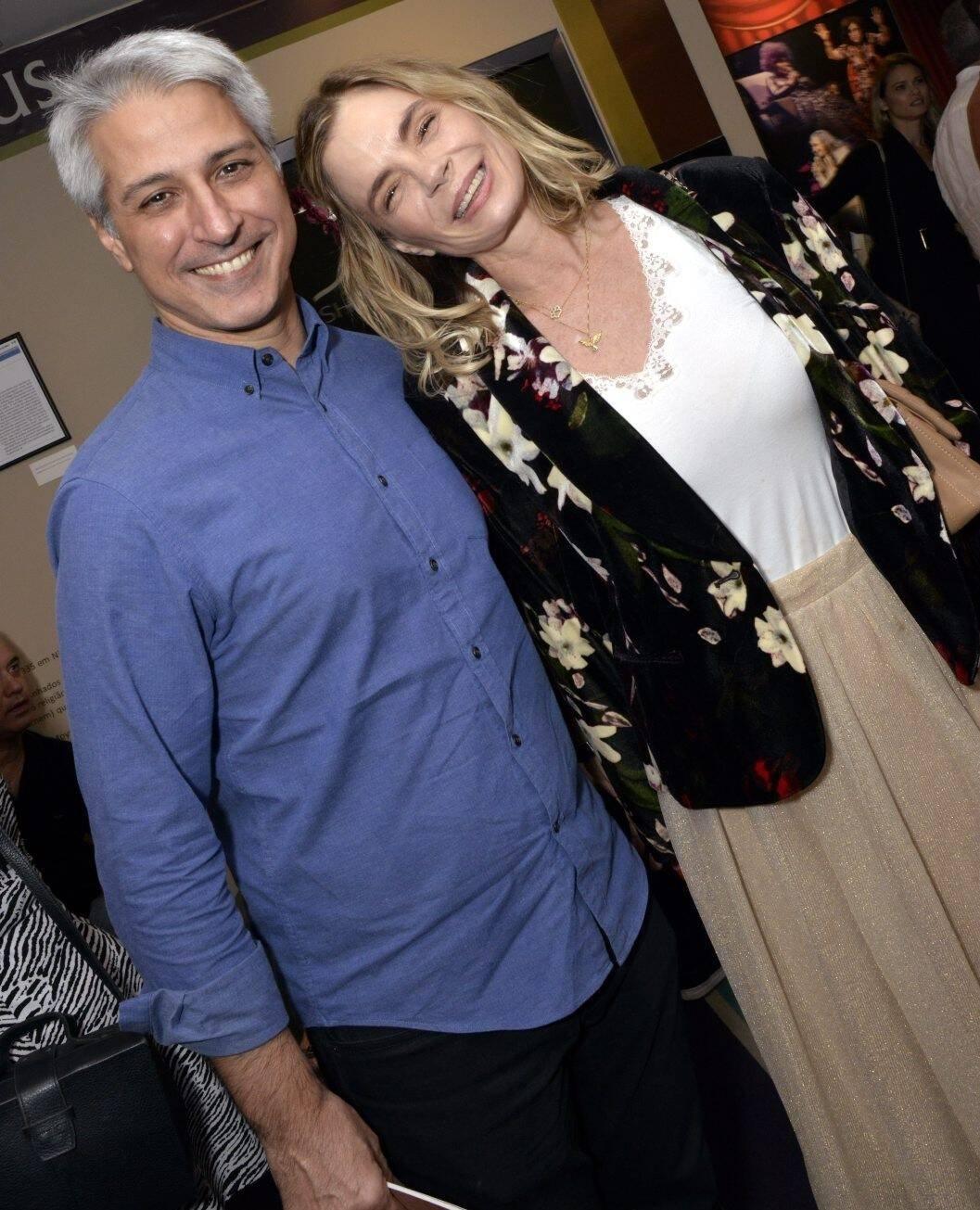 Alessandro Molon e Alexia Dechamps /Foto: Cristina Granato