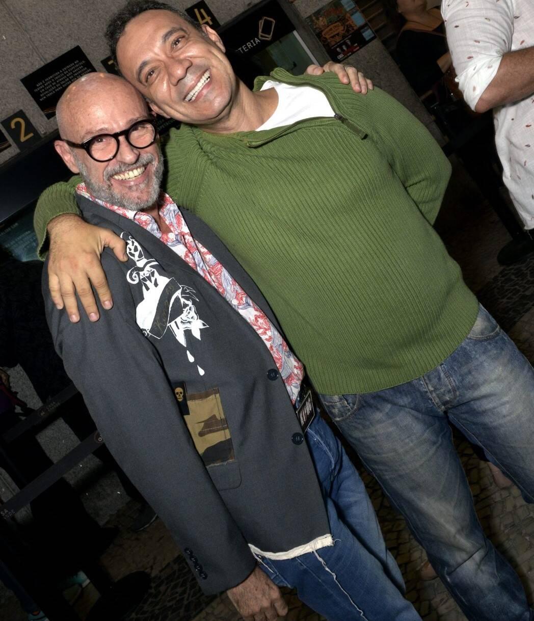Gilberto Gavronski e Fábio Júdice /Foto: Cristina Granato