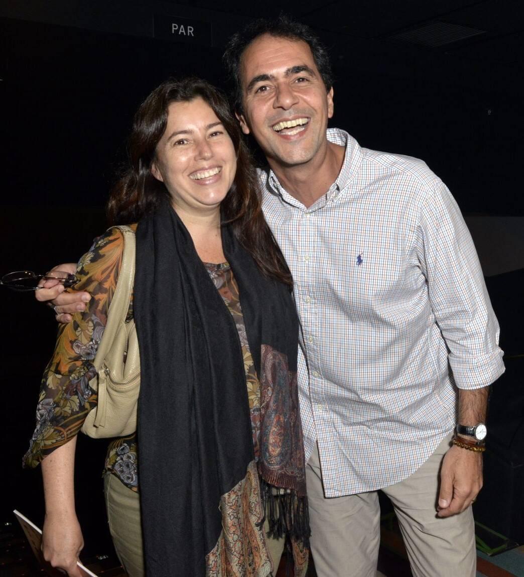 O casal Tetê e Léo Haus /Foto: Cristina Granato