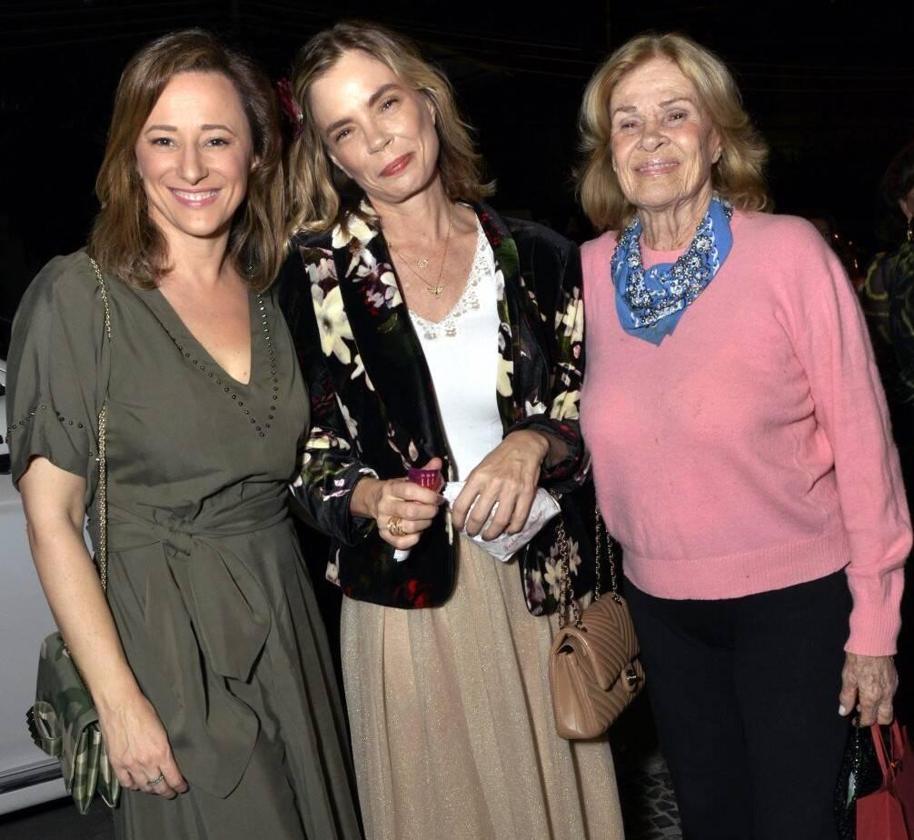 Paula Braun, Alexia e Renata Dechamps /Foto: Cristina Granato