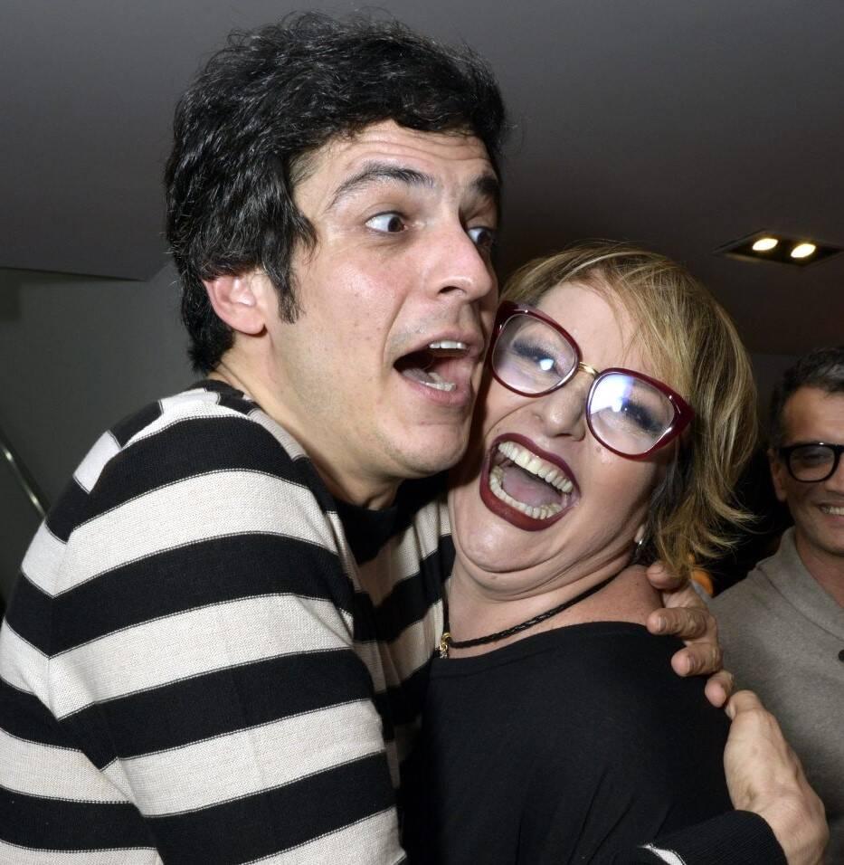 Mateus Solano e Gotsha /Foto: Cristina Granato