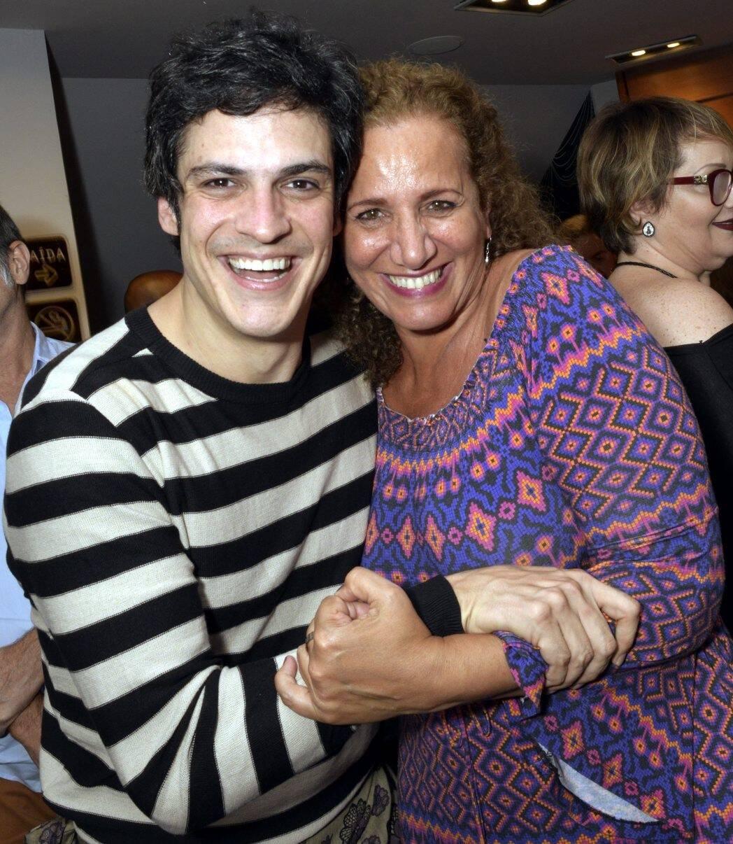 Mateus Solano e Jandira Feghali /Foto: Cristina Granato