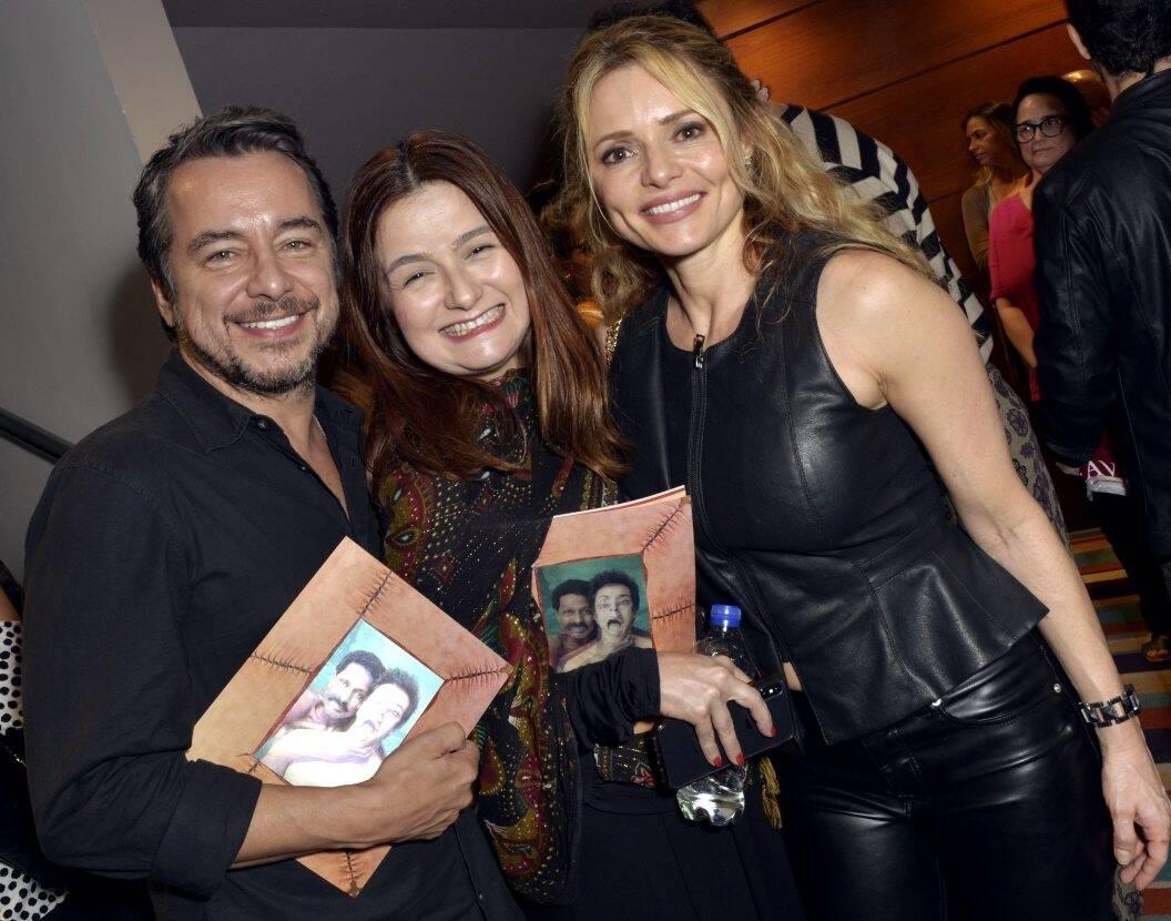 Carlos Vieira, Cintia Oliveira e Rita Guedes /Foto: Cristina Granato