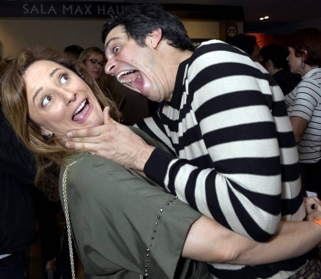 Paula Braun e Mateus Solano /Foto: Cristina Granato