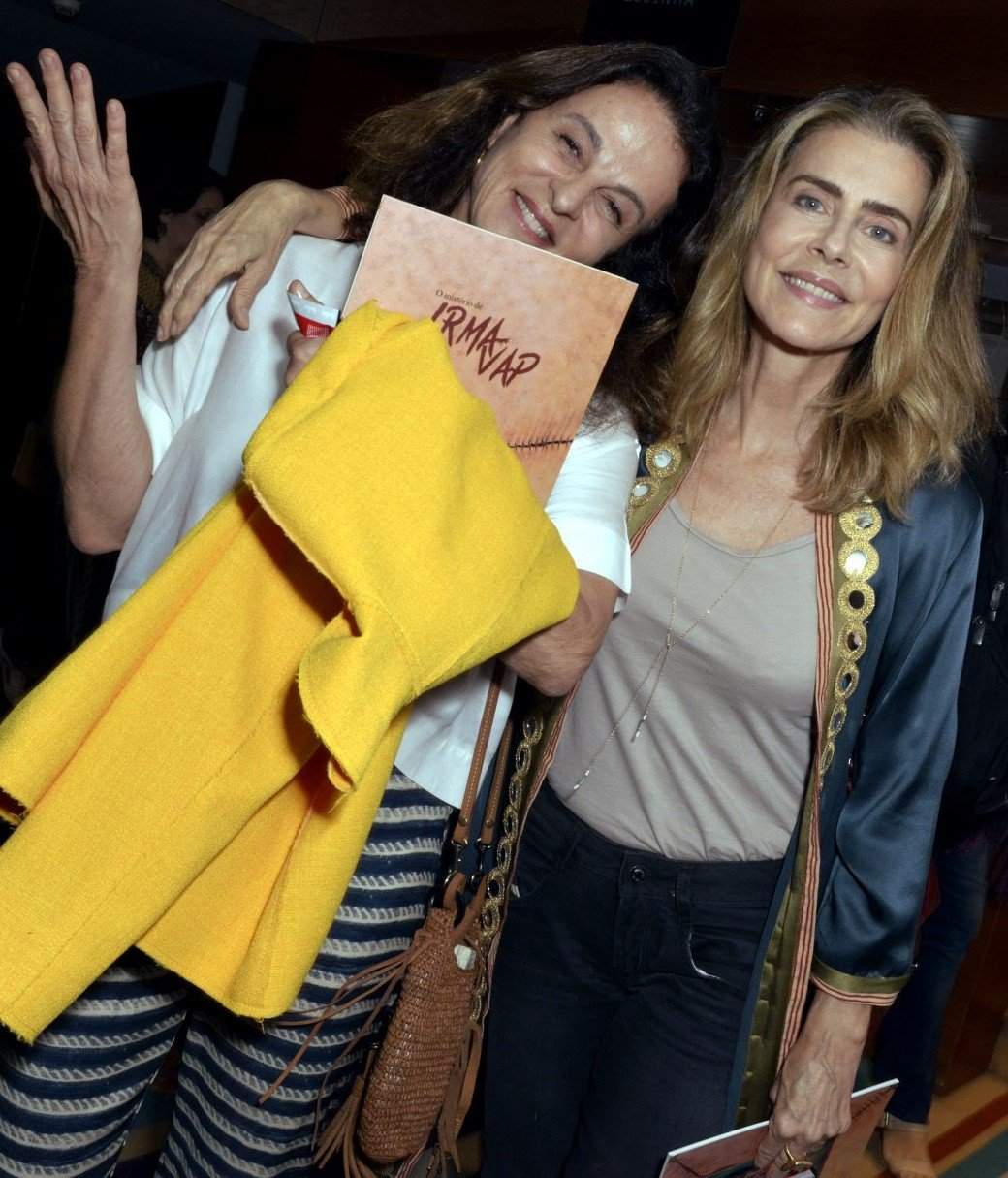 Sonia Racy e Maitê Proença /Foto: Cristina Granato