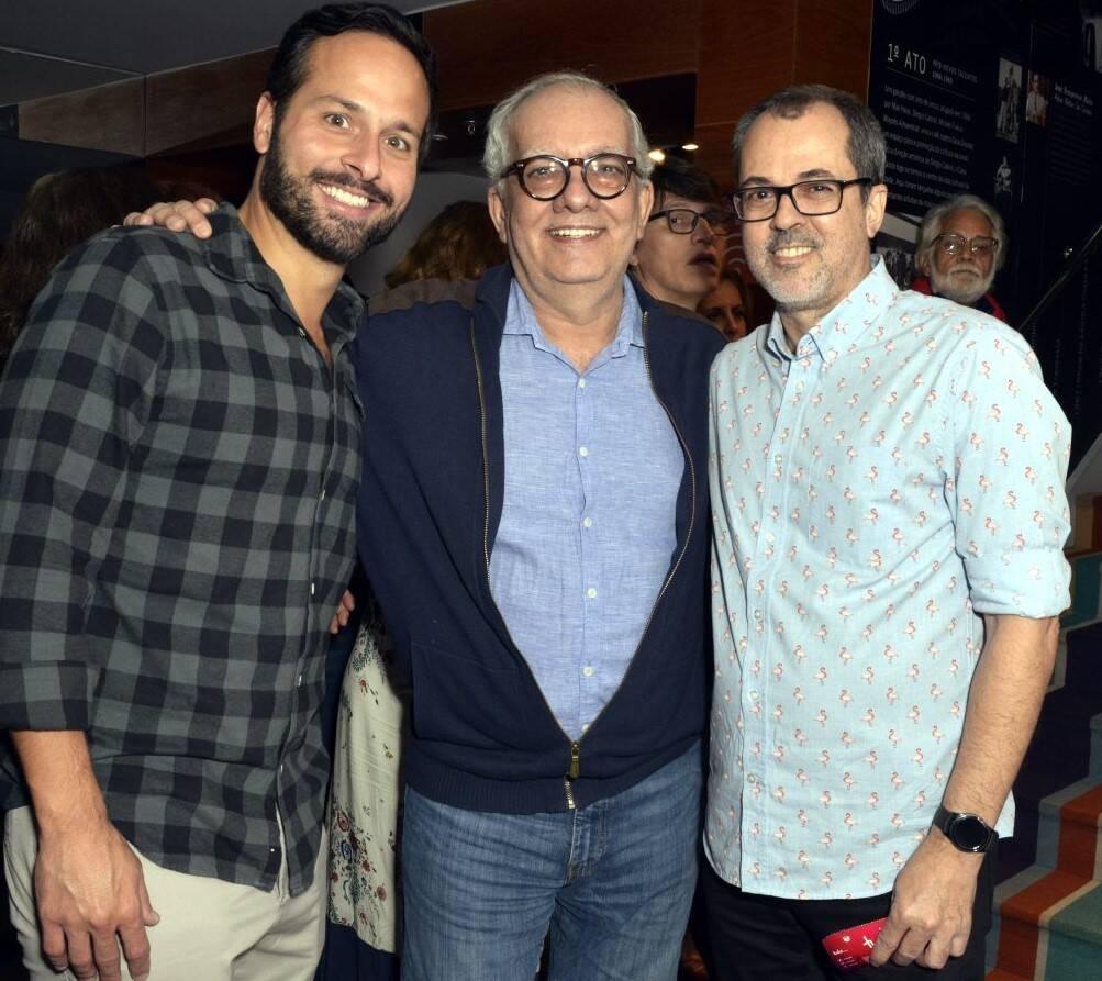 Marcelo Calero, Artur Xéxeo e Paulo Severo /Foto: Cristina Granato