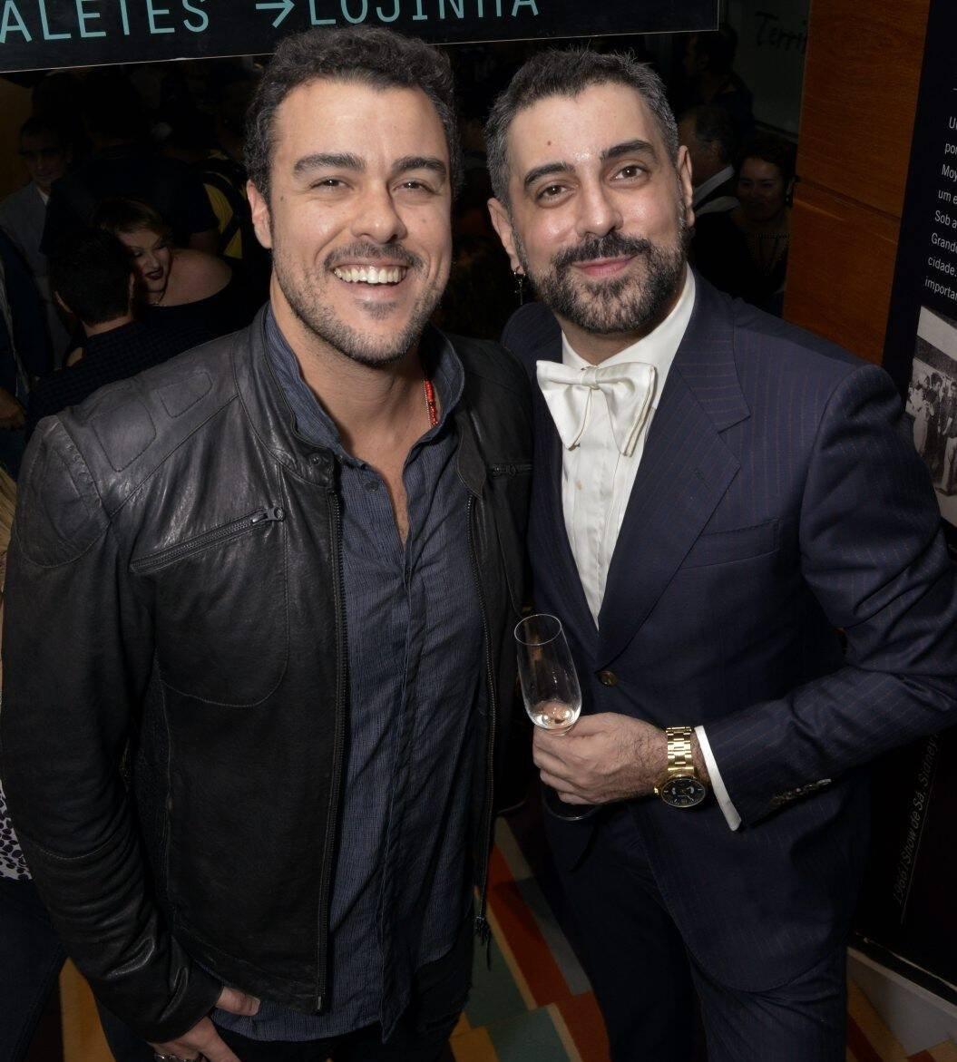 Joaquim Lopes e Jorge Farjalla /Foto: Cristina Granato