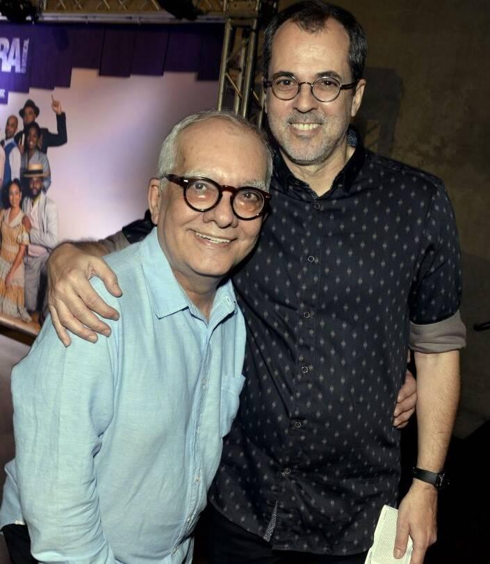 Artur Xexéo e Paulo Severo /Foto: Cristina Granato