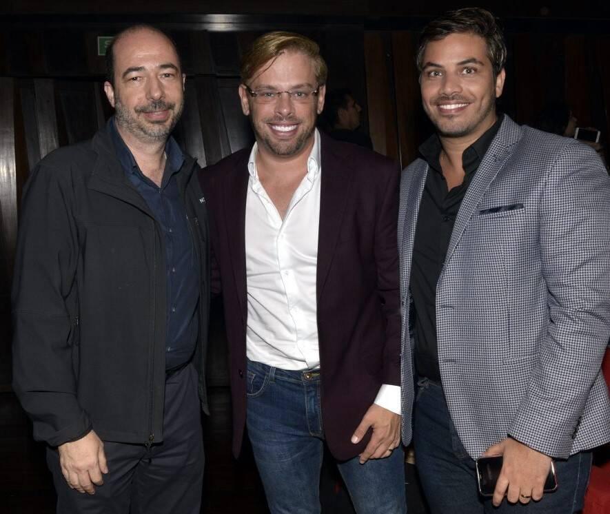 André Marini, Bruno Chateaubriand e Diogo Bocca /Foto: Cristina Granato