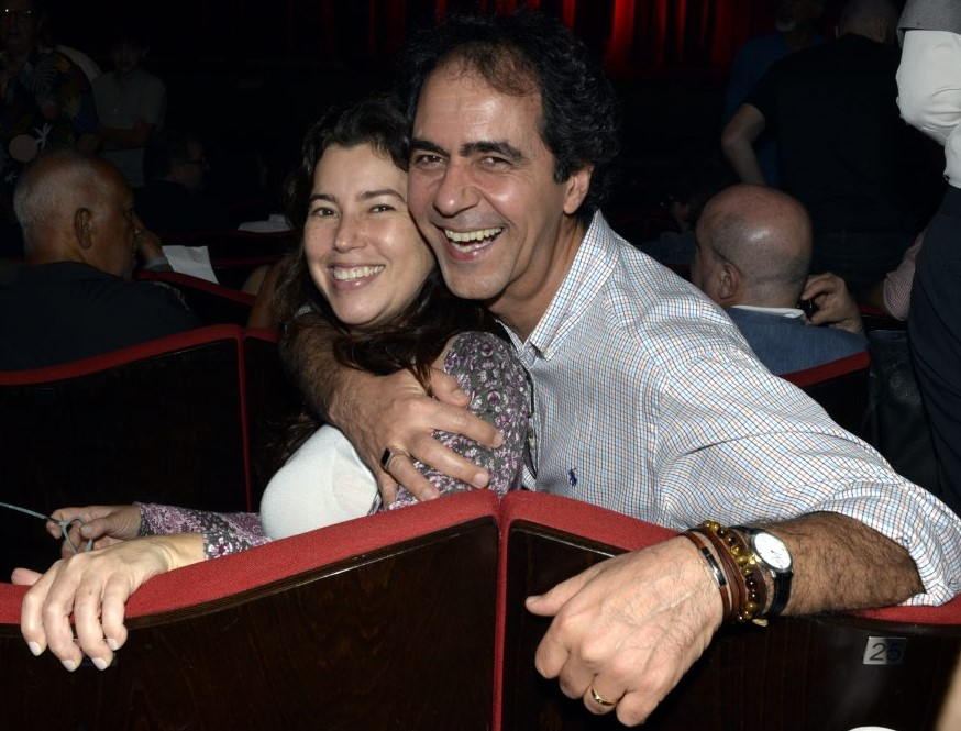 O casal Tetê e Leonardo Haus /Foto: Cristina Granato