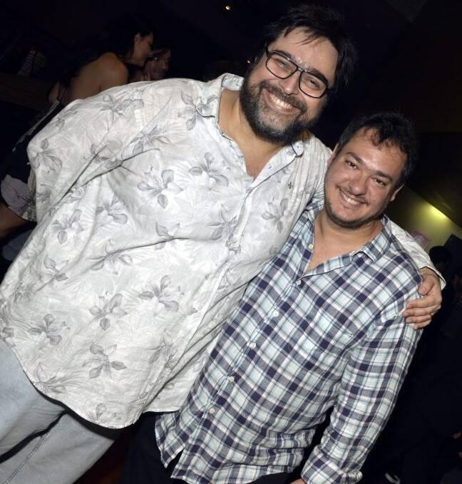Eduardo Barata e Eduardo Bakr /Foto: Cristina Granato