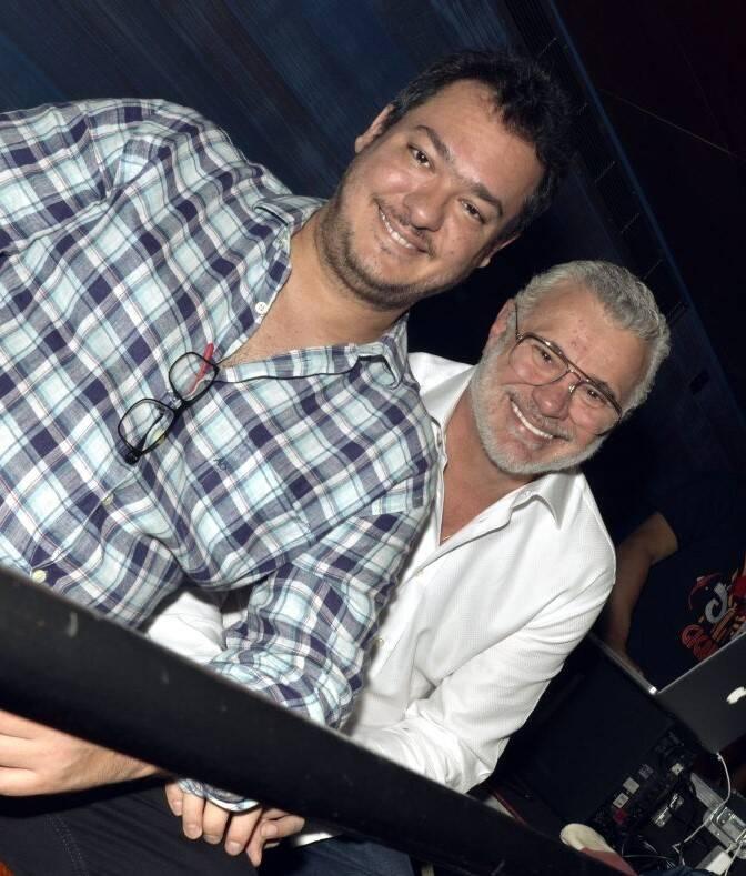 Eduardo Bakr e Tadeu Aguiar /Foto: Cristina Granato