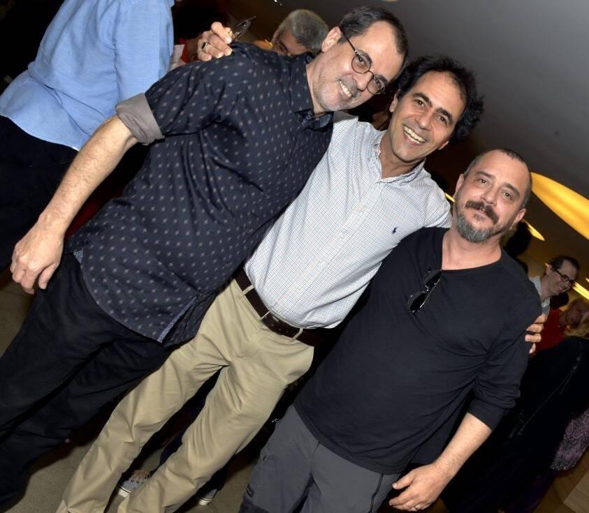 Paulo Severo,  Léo Haus e Eduardo Dantas /Foto: Cristina Granato