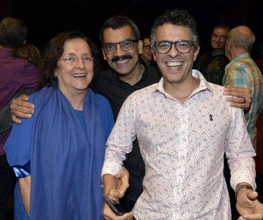 Tânia Brandão, Alexandre Lino e Gustavo Gasparian /Foto: Cristina Granato