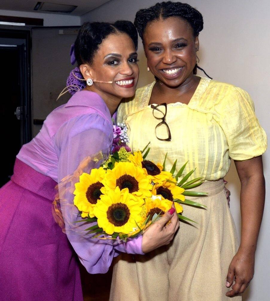 Flavia Santana  e  Letícia Soares /Foto: Cristina Granato