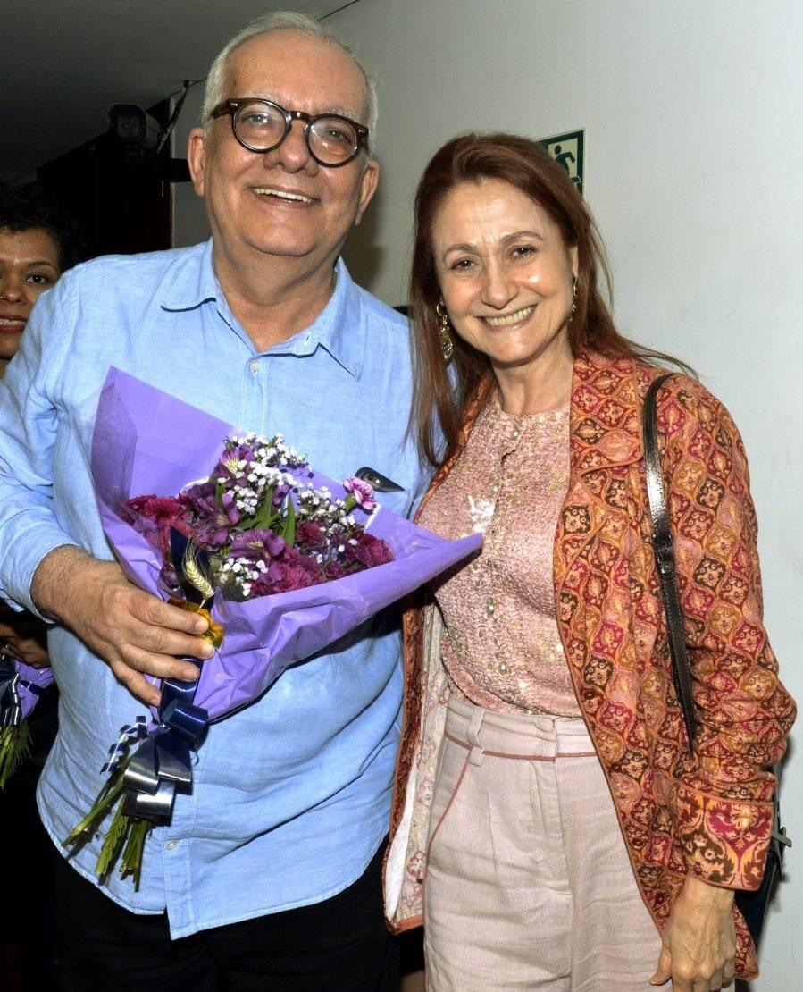 Artur Xexéo e Zezé Polessa /Foto: Cristina Granato