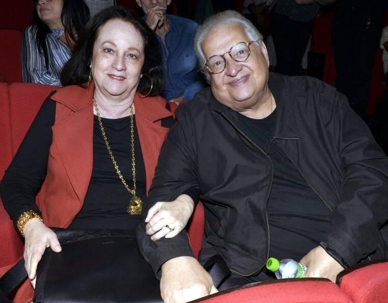 O casal Beth e Carlos Alberto Serpa /Foto: Cristina Granato