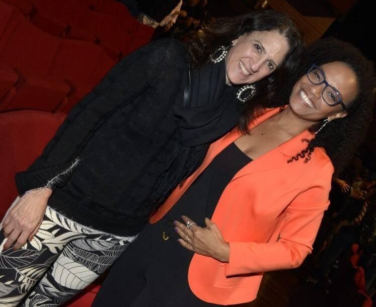 Aniela Jordan e Flavia Oliveira /Foto: Cristina Granato