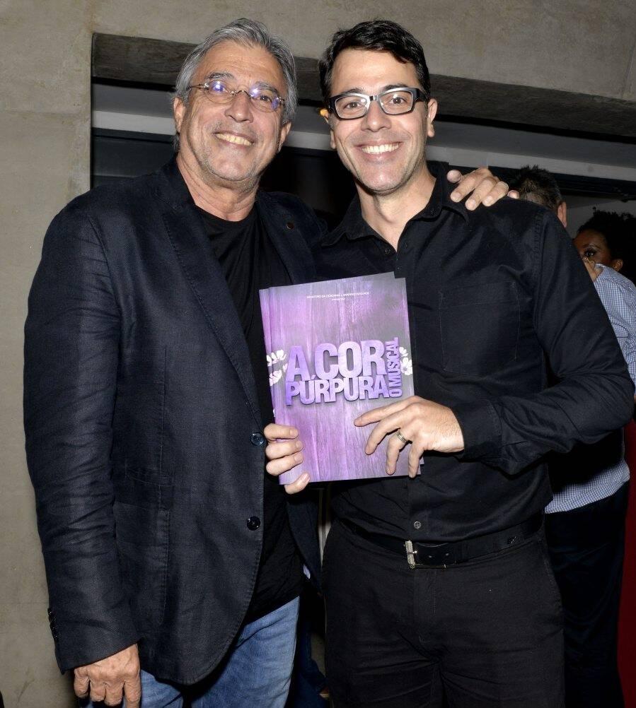 Ivan Lins e Claudio Lins /Foto: Cristina Granato