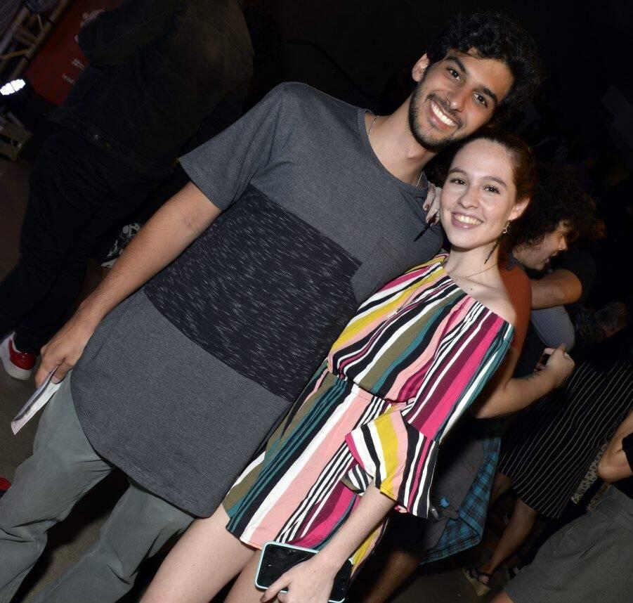 Matheus Cunha e Giovanna Rangel /Foto: Cristina Granato
